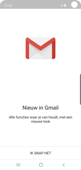 Samsung Galaxy S10e - E-mail - handmatig instellen (gmail) - Stap 5