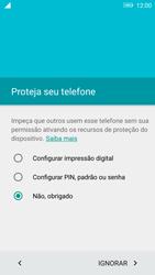 Lenovo Vibe K6 - Primeiros passos - Como ativar seu aparelho - Etapa 11