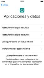 Apple iPhone 6 iOS 10 - Primeros pasos - Activar el equipo - Paso 16