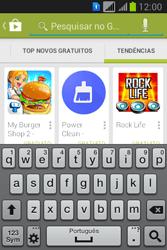 Samsung S6293T Galaxy Young Plus - Aplicativos - Como baixar aplicativos - Etapa 13