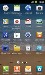 Samsung I8160 Galaxy Ace II - WiFi - Conectarse a una red WiFi - Paso 3