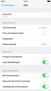 Apple iPhone 6s Plus iOS 10 - E-mail - handmatig instellen (yahoo) - Stap 9