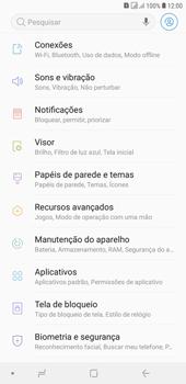 Samsung J4+ - Rede móvel - Como definir um aviso e limite de uso de dados - Etapa 4