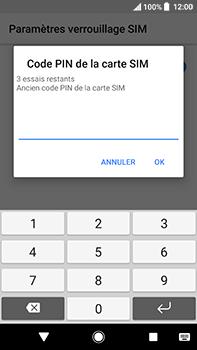 Sony Xperia XA2 Ultra - Sécuriser votre mobile - Personnaliser le code PIN de votre carte SIM - Étape 7