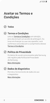 Samsung Galaxy S9 Plus - Primeiros passos - Como ativar seu aparelho - Etapa 11