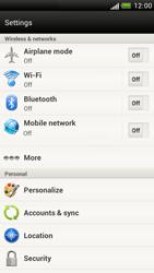 HTC Z520e One S - Internet - Manual configuration - Step 4
