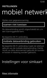Nokia Lumia 635 - Bellen - in het buitenland - Stap 5