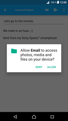 Sony E5823 Xperia Z5 Compact - Android Nougat - E-mail - Sending emails - Step 11