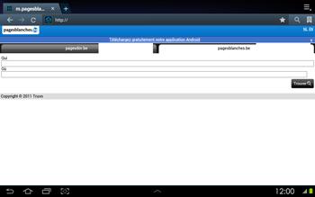 Samsung P5100 Galaxy Tab 2 10-1 - Internet - navigation sur Internet - Étape 11