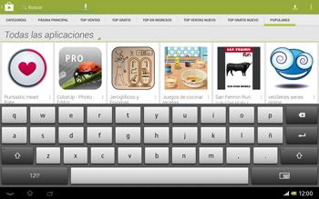 Sony Xperia Tablet Z - Aplicaciones - Descargar aplicaciones - Paso 13
