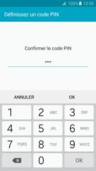 Samsung Galaxy S6 - Sécuriser votre mobile - Activer le code de verrouillage - Étape 10