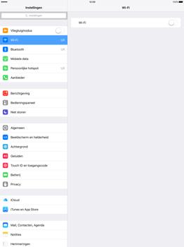 Apple iPad Pro 12.9 (1st gen) - iOS 9 - WiFi en Bluetooth - Handmatig instellen - Stap 4