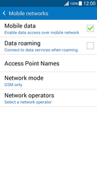 Samsung G530FZ Galaxy Grand Prime - Network - Change networkmode - Step 9