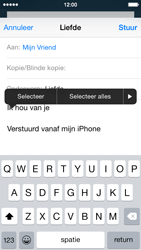 Apple iPhone 5c (iOS 8) - e-mail - hoe te versturen - stap 9