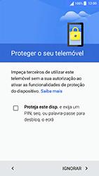 Sony Xperia XA (F3111) - Primeiros passos - Como ligar o telemóvel pela primeira vez -  10