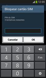 Samsung Galaxy Grand Neo - Segurança - Como ativar o código PIN do cartão de telemóvel -  8