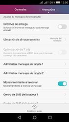 Huawei Y5 II - Mensajería - Configurar el equipo para mensajes de texto - Paso 6