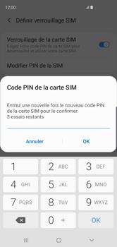 Samsung Galaxy S10 - Sécurité - modifier SIM PIN - Étape 10