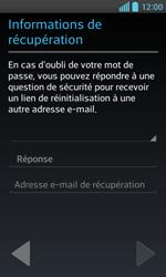 LG Optimus L5 II - Premiers pas - Créer un compte - Étape 17