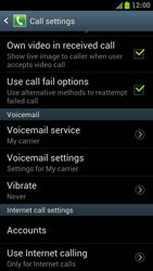 Samsung I9300 Galaxy S III - Voicemail - Manual configuration - Step 4