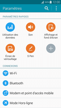 Samsung N910F Galaxy Note 4 - Bluetooth - connexion Bluetooth - Étape 6