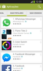 Samsung Galaxy Ace 3 LTE - Aplicações - Como pesquisar e instalar aplicações -  7