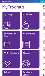 Microsoft Lumia 532 - Applications - MyProximus - Step 13
