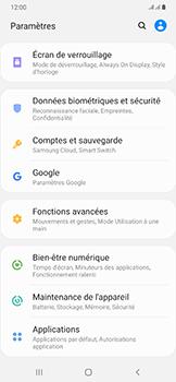 Samsung Galaxy A50 - Sécurité - modifier SIM PIN - Étape 4