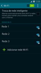 Samsung G900F Galaxy S5 - Wi-Fi - Como configurar uma rede wi fi - Etapa 6