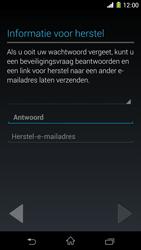 Sony Xperia Z1 4G (C6903) - Applicaties - Account aanmaken - Stap 14