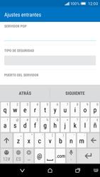 HTC One M9 - E-mail - Configurar correo electrónico - Paso 9