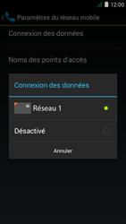 Acer Liquid Z410 - Internet - Configuration manuelle - Étape 7