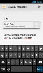 Bouygues Telecom Bs 402 - E-mails - Envoyer un e-mail - Étape 6