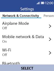 Nokia 8110 Banana - Network - Usage across the border - Step 4