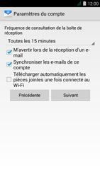 Acer Liquid Z410 - E-mail - Configuration manuelle - Étape 16