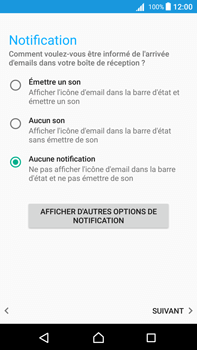 Sony Xperia Z5 Premium (E6853) - Android Nougat - E-mail - Configuration manuelle (yahoo) - Étape 11
