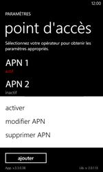 Nokia Lumia 720 - Internet - Configuration manuelle - Étape 20