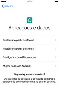 Apple iPhone 6s Plus - Primeiros passos - Como ligar o telemóvel pela primeira vez -  18