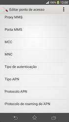 Sony C5303 Xperia SP - Internet (APN) - Como configurar a internet do seu aparelho (APN Nextel) - Etapa 11