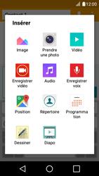LG K4 - Contact, Appels, SMS/MMS - Envoyer un MMS - Étape 14