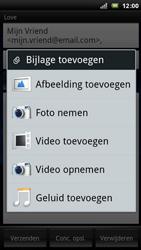 Sony Ericsson R800 Xperia Play - E-mail - hoe te versturen - Stap 8