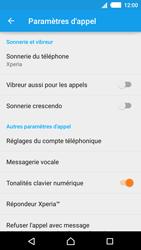 Sony E2303 Xperia M4 Aqua - Messagerie vocale - configuration manuelle - Étape 7