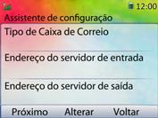 Huawei U6020 - Email - Como configurar seu celular para receber e enviar e-mails - Etapa 9
