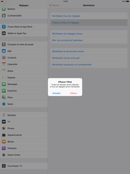 Apple Apple iPad Pro 12.9 - iOS 11 - Device maintenance - Retour aux réglages usine - Étape 6