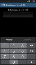 Samsung Galaxy S4 Mini - Sécuriser votre mobile - Activer le code de verrouillage - Étape 8