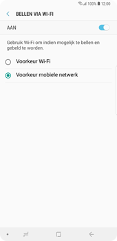 Samsung Galaxy Note9 - Bellen - bellen via wifi (VoWifi) - Stap 8