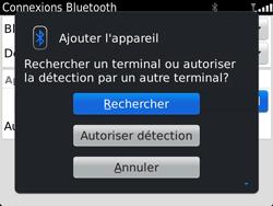 BlackBerry 9900 Bold Touch - Bluetooth - Jumeler avec un appareil - Étape 8