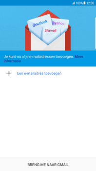 Samsung Galaxy S6 Edge+ - Android Nougat - E-mail - e-mail instellen (gmail) - Stap 6
