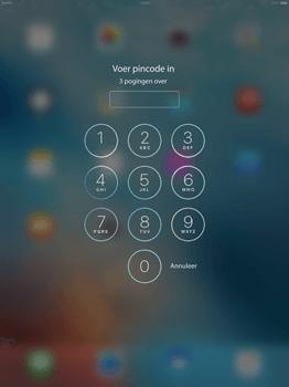 Apple iPad Pro 12.9 (1st gen) - iOS 9 - Device maintenance - Een soft reset uitvoeren - Stap 6