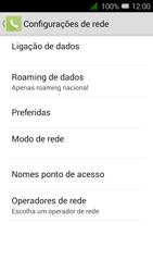 Alcatel Pixi 3 - Internet no telemóvel - Como configurar ligação à internet -  9